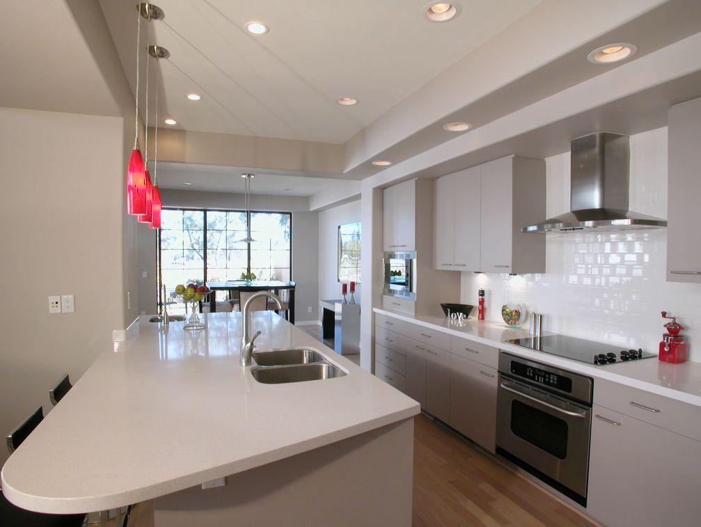 Fantastic Space Saving Galley Kitchen Ideas