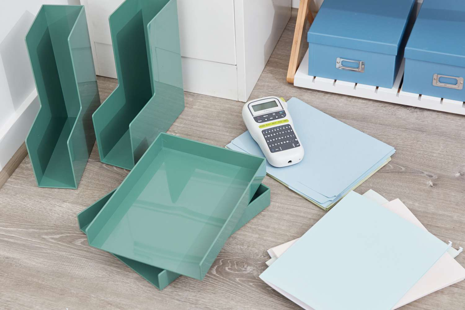 Filing system supplies
