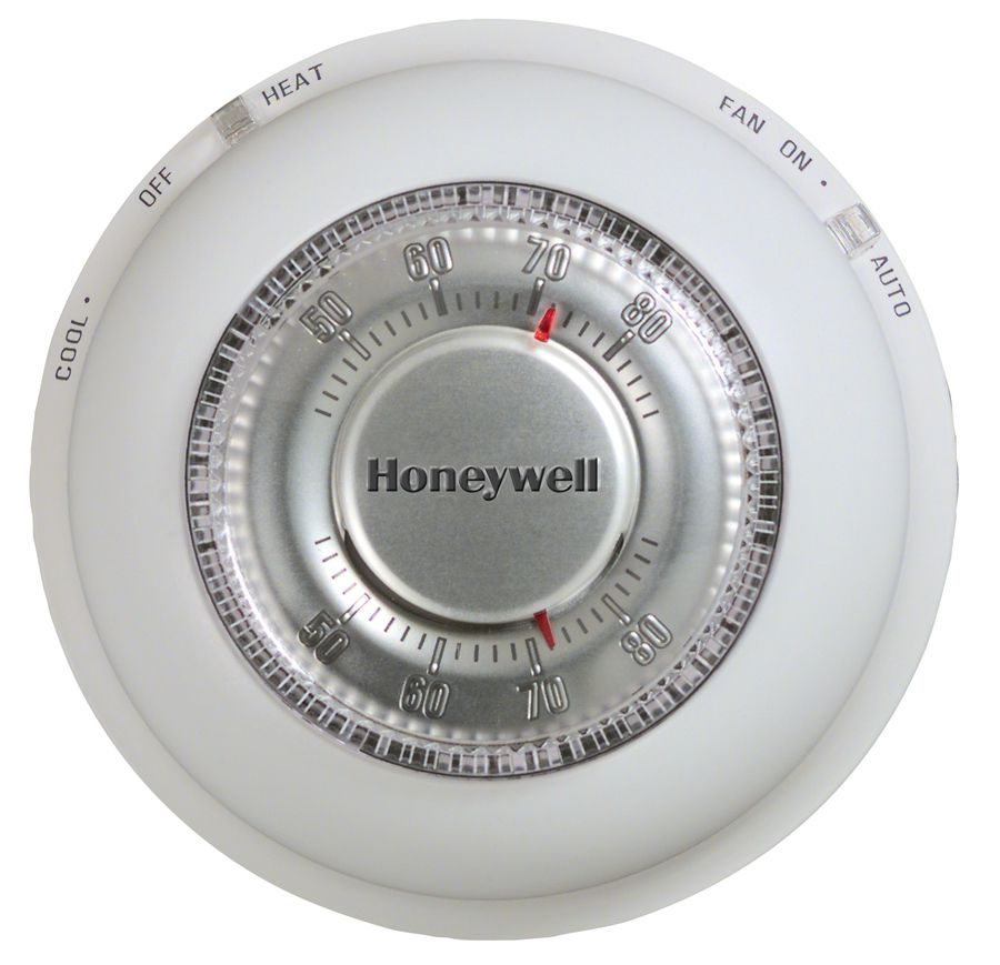 Round Thermostats From Honeywell To Nest