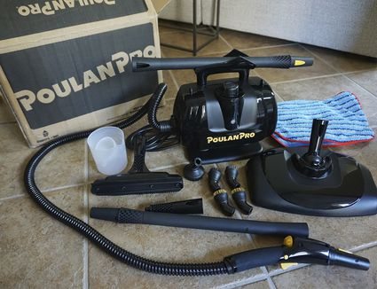 Poulan Pro Portable Steam Cleaner