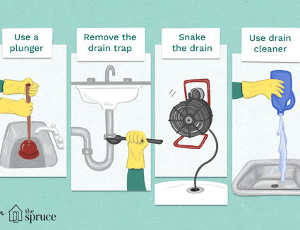 How To Unclog Any Drain In Your Home