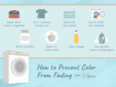 How To Keep Colors From Fading On Clothes