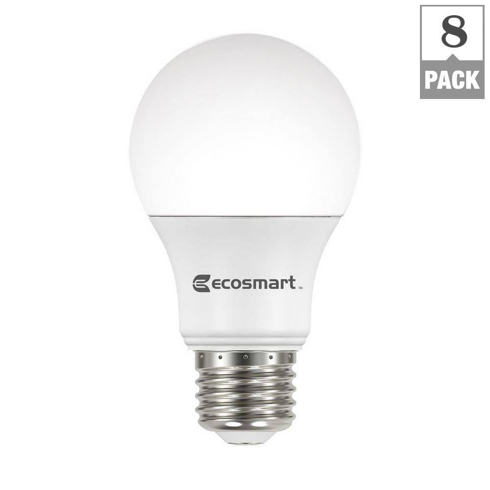 2 PACK Philips 75W Replacement 10 Watt 1000 Lumen Daylight LED Light Bulb A19