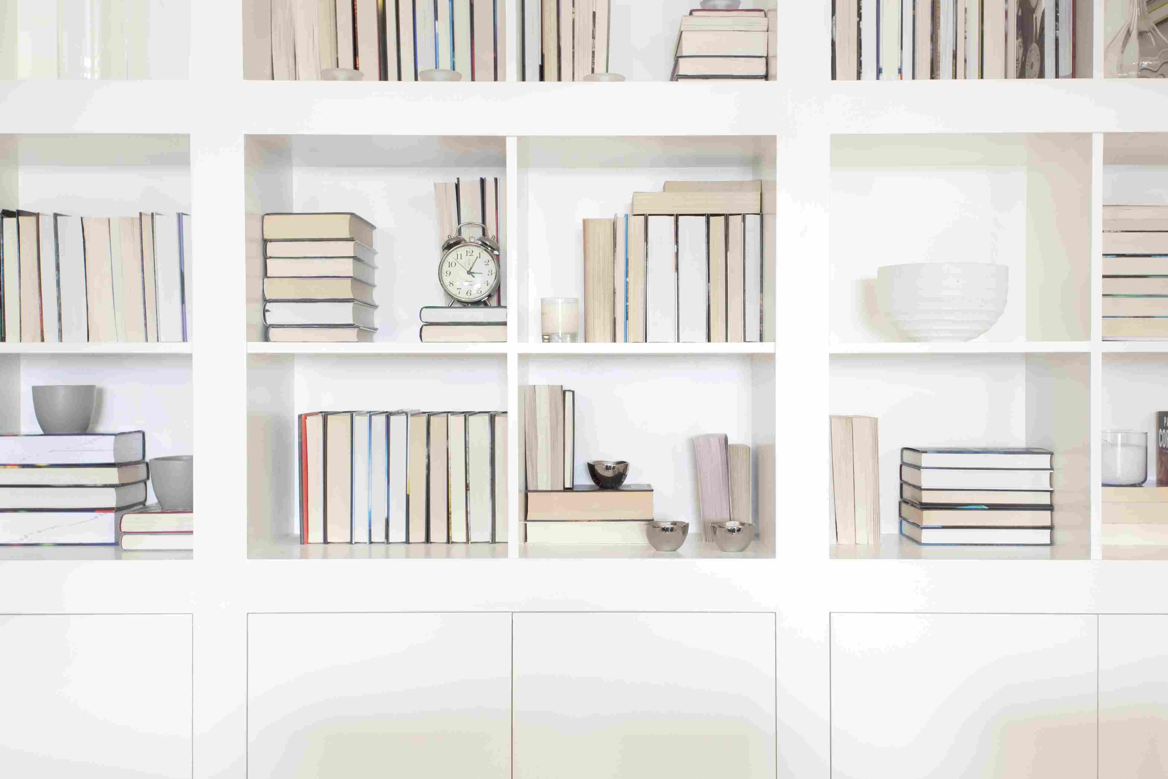 Bookshelf display