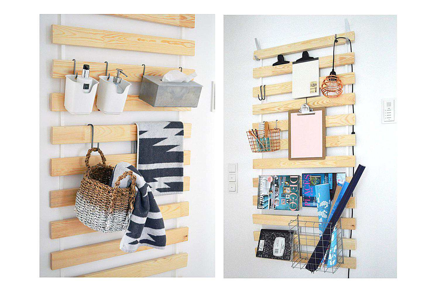 Hanging Storage Hacks To Get Your Home Super Organized
