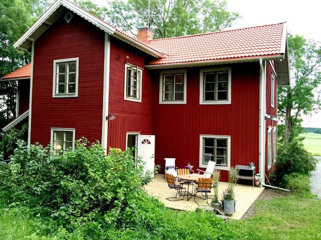 large red home