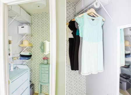 Affordable Closet Transformation
