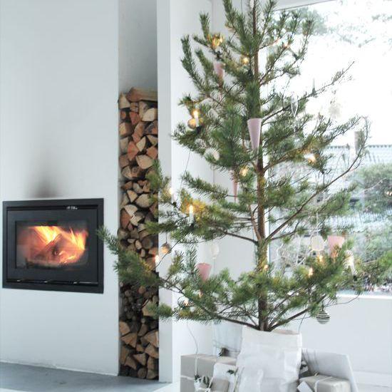 Minimalist Scandinavian Christmas tree