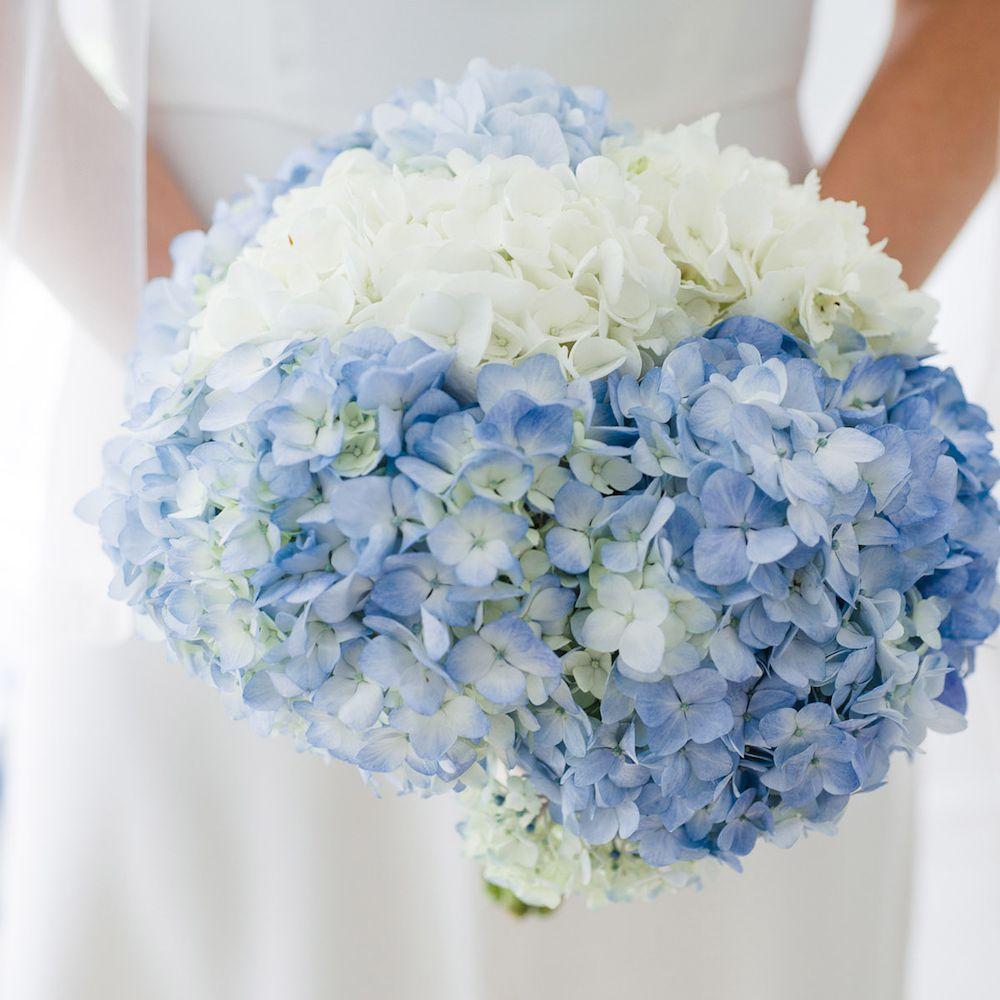 Hydrangea Summer Wedding Bouquet