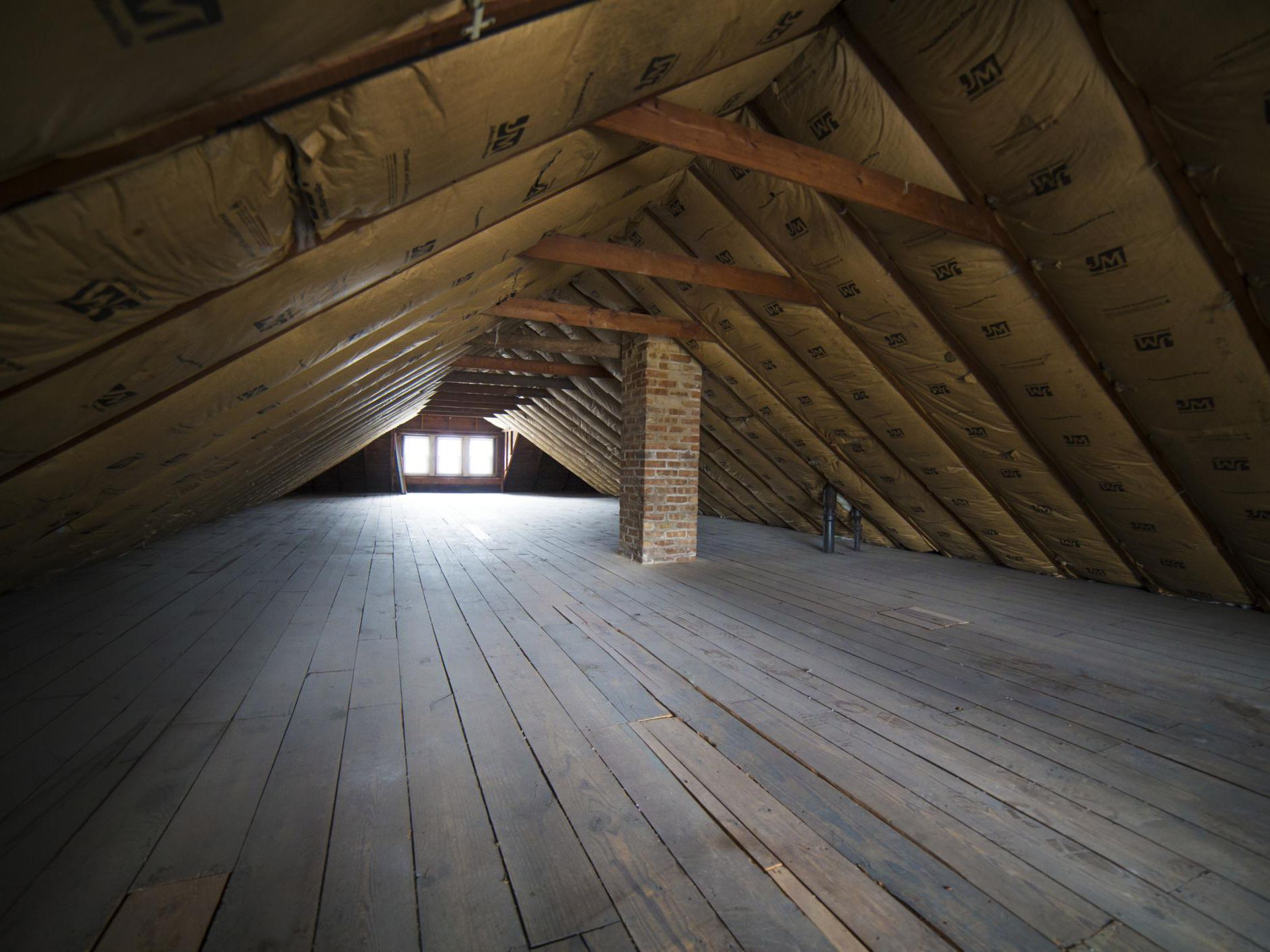 Attic In A House