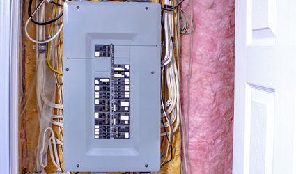 Circuit breaker in closet
