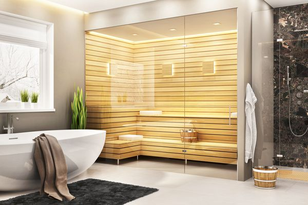 Steam Room in a Bathroom