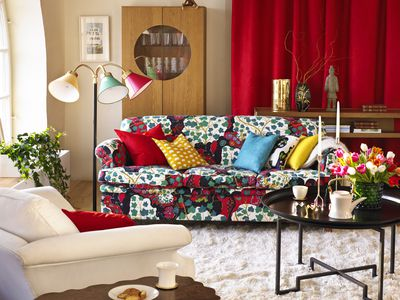 Blue Living Room Ideas Gorgeous Red Living Room