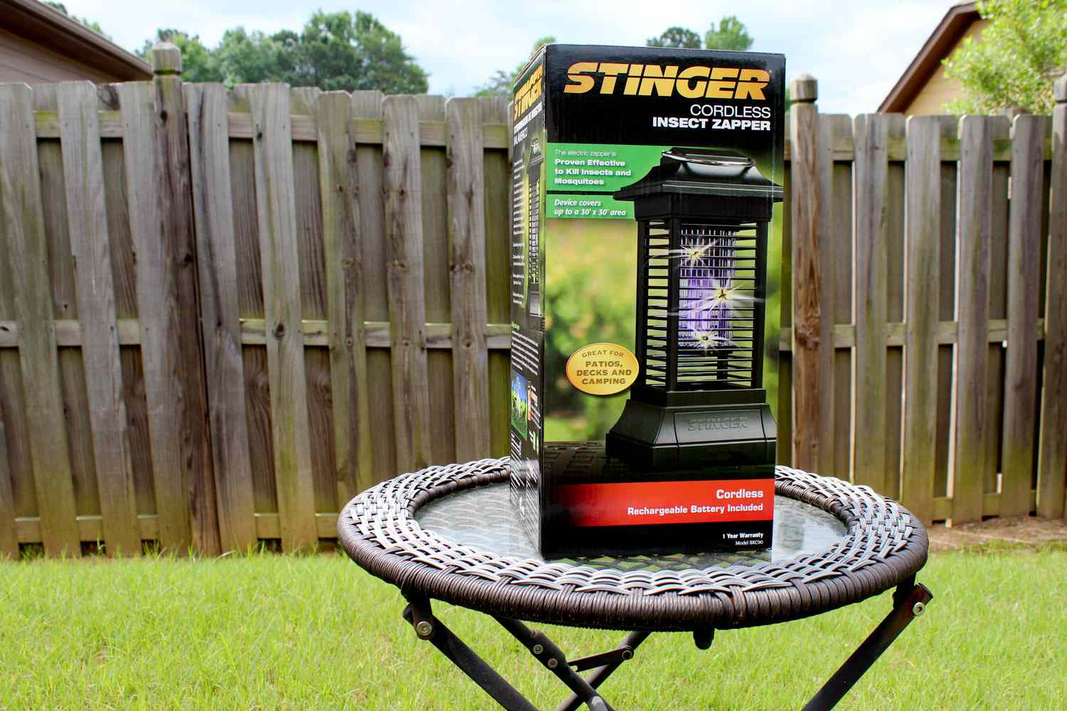 Stinger Cordless Insect Zapper Lantern Review
