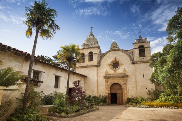 A Spanish mission.