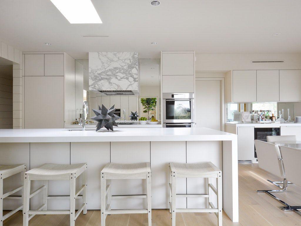 Clean kitchen minimal decor