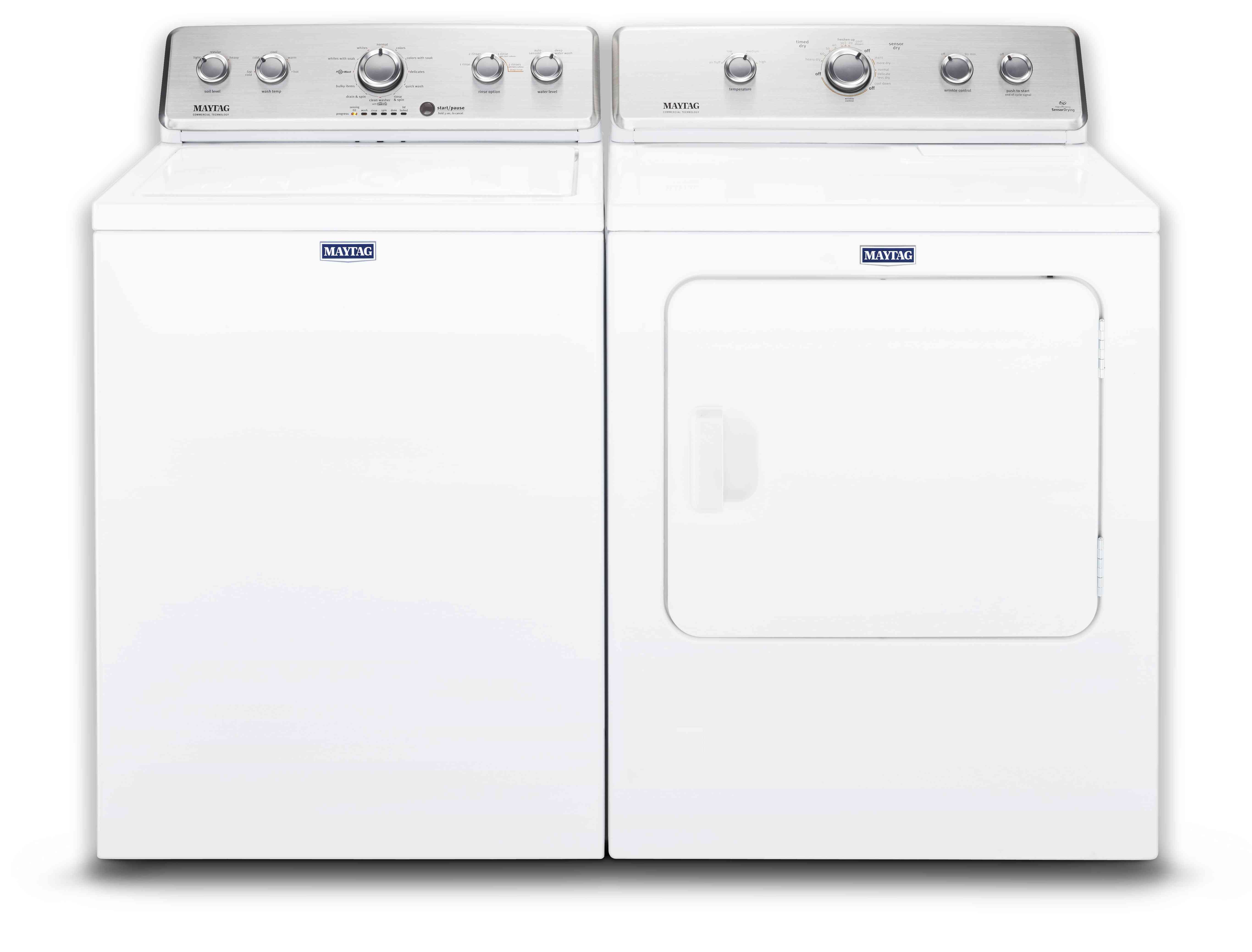 Maytag Washer Dryer in White