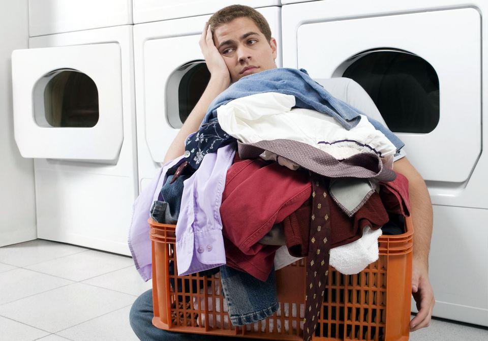 Universidad lavandería chico