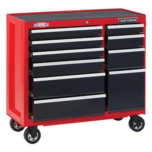 Craftsman 2000 Series 10-Drawer Steel Rolling Tool Cabinet