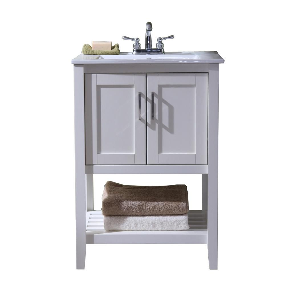 sink furniture cabinet. Vanity With Single Sink Top In White Ceramic Basin Sink Furniture Cabinet