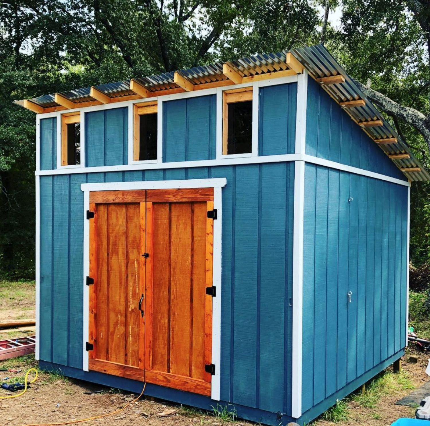 26 Stylish Shed Designs