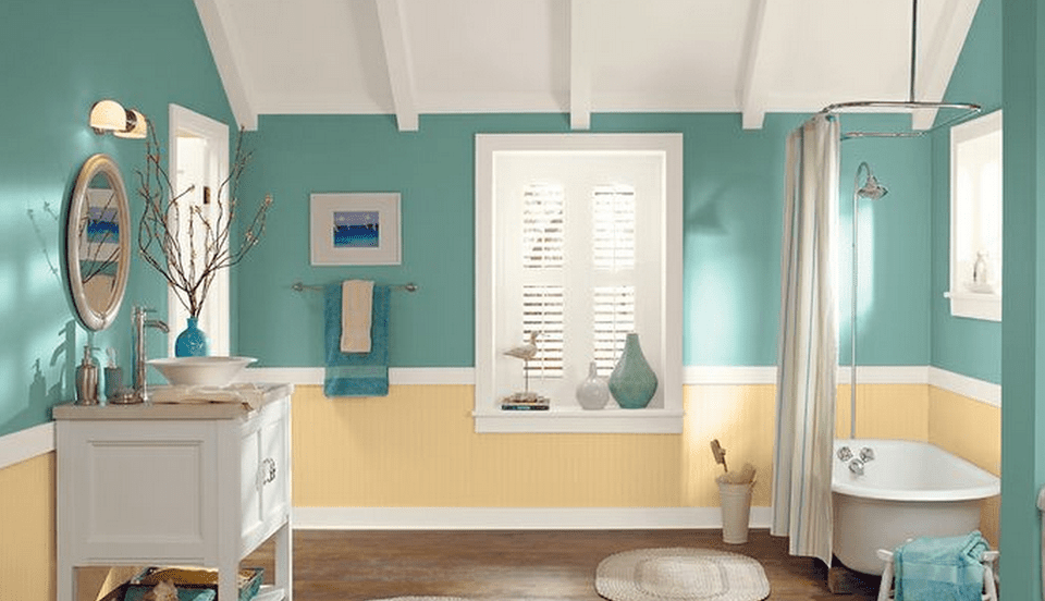 7 colors that work well for painting a bathroom 25069
