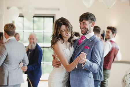 Fun wedding reception songs that will get your guests dancing dancing at wedding reception solutioingenieria Image collections