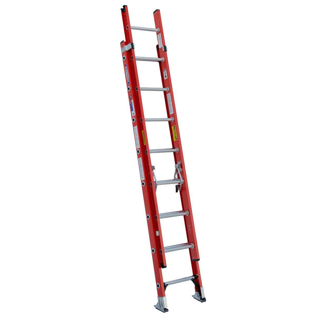 Werner D6200 Fiberglass Extension Ladder