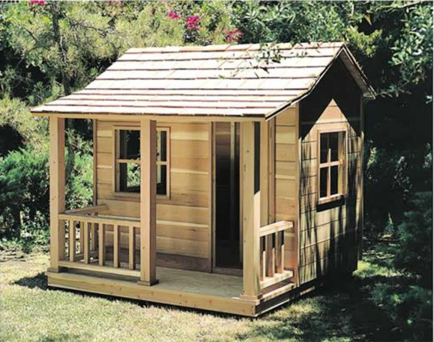 Surprising 16 Free Backyard Playhouse Plans For Kids Interior Design Ideas Clesiryabchikinfo