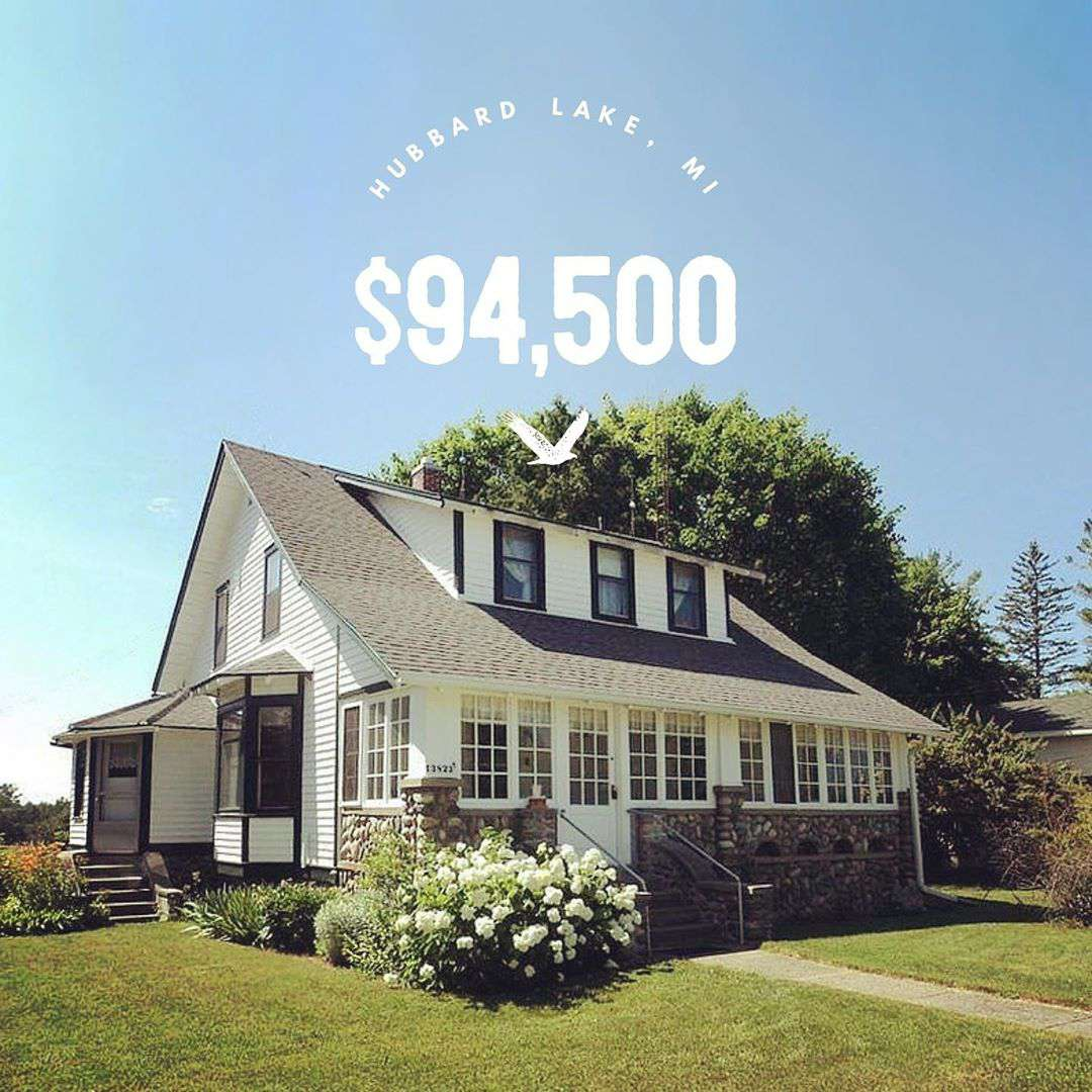 Casa blanca en Michigan