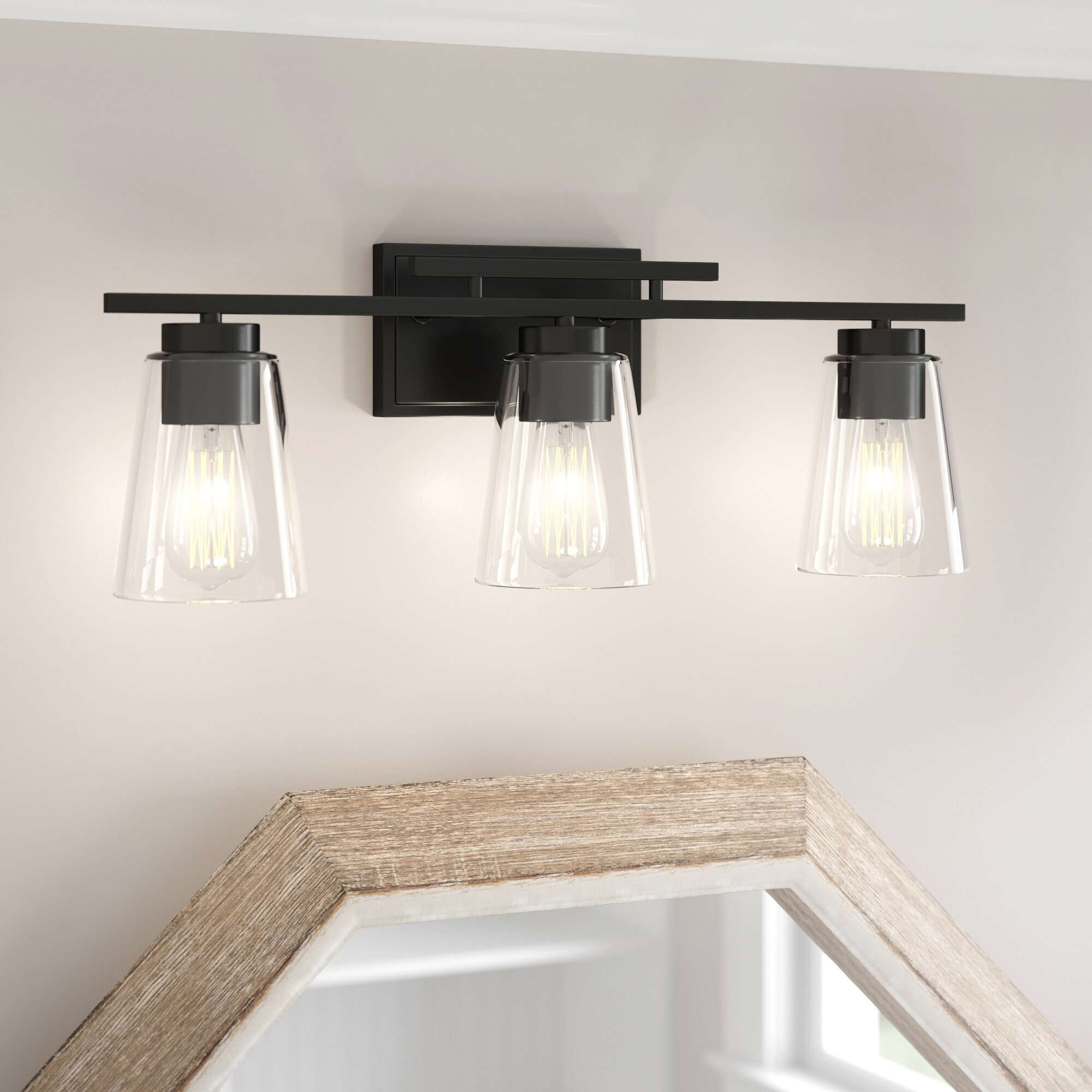 Three Posts Averi 3-Light Dimmable Vanity Light