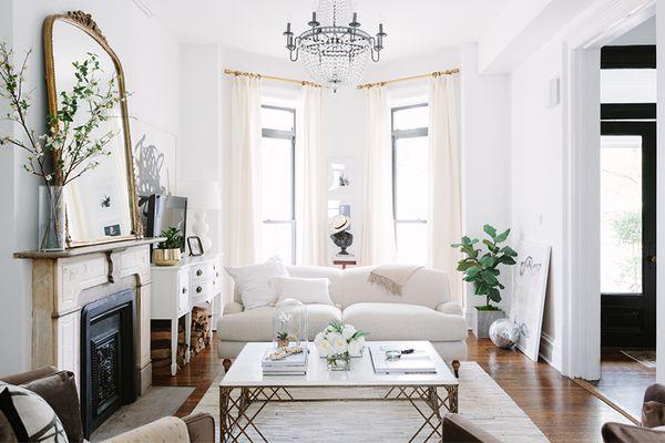 Victorian modern living room