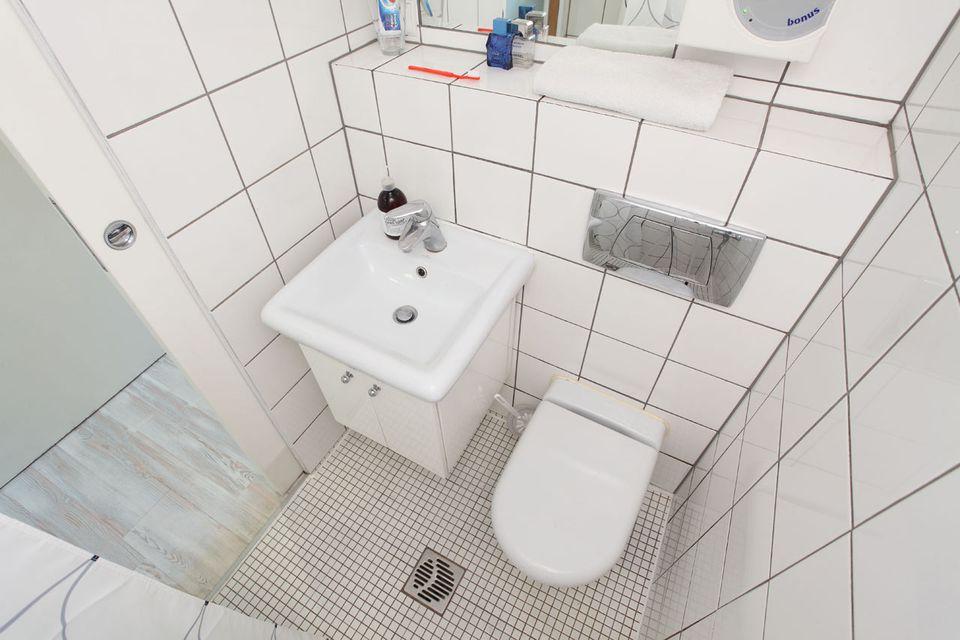 Small wetroom bathroom