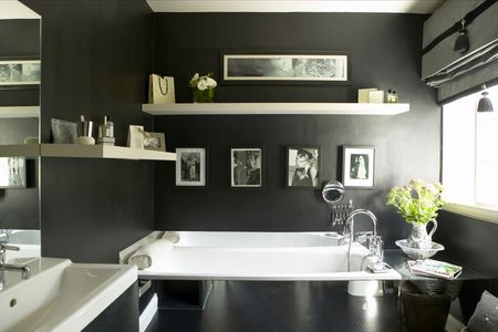 Bathroom Wall Ideas | Budget Bathroom Decorating Ideas For Your Guest Bathroom
