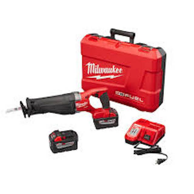 Milwaukee M18 Fuel Super Sawzall Recip Saw Kit