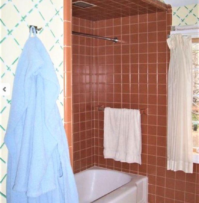 Remodelación del baño Morris Black Before