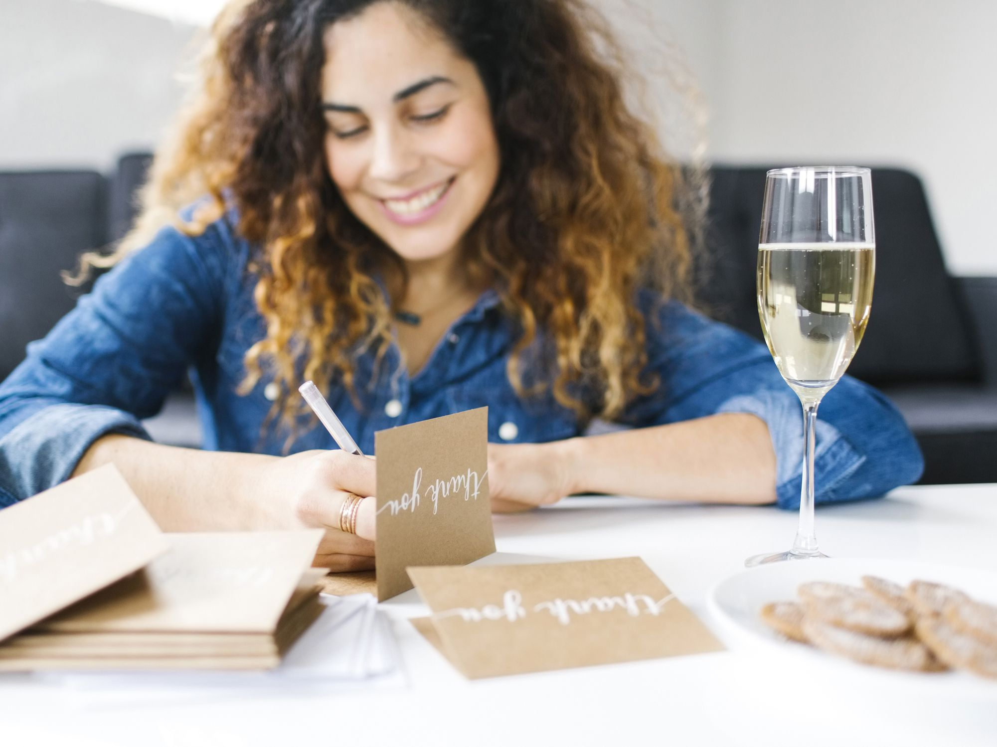 Bridal Shower Thank You Note Etiquette and Wording