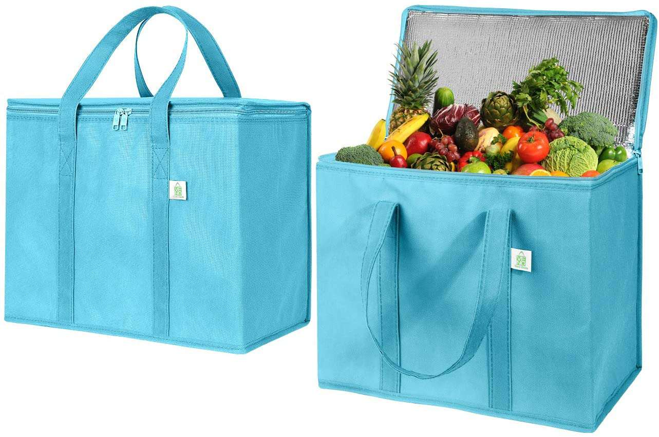 2 Pack Insulated Reusable Grocery Bag by VENO