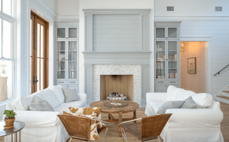 15 Farmhouse-Style Living Room Tips