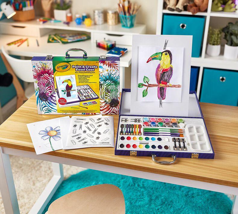 Table Top Easel Art Case for Kids