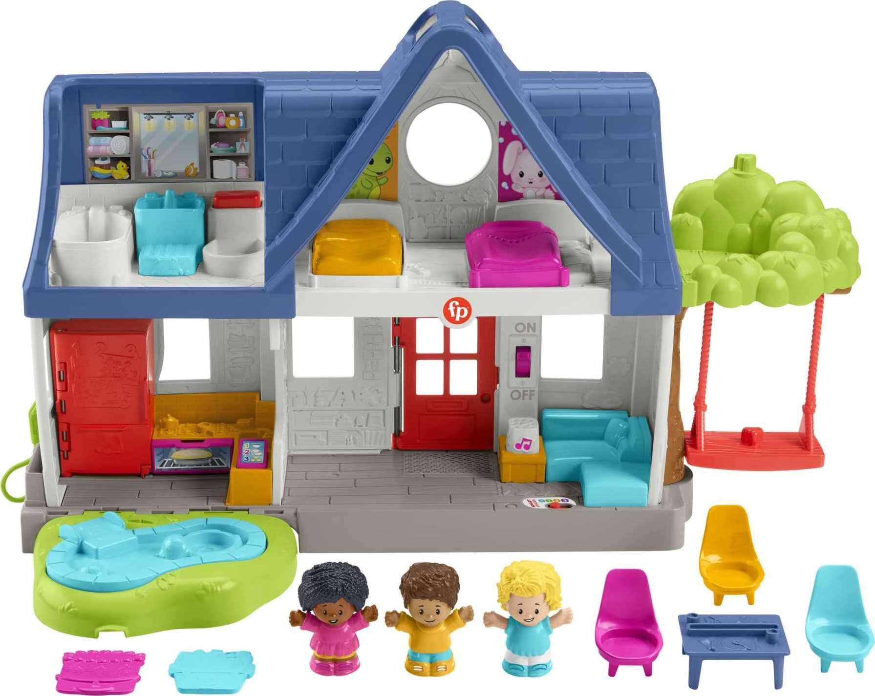 Fisher-Price Little People Friends Together Play House