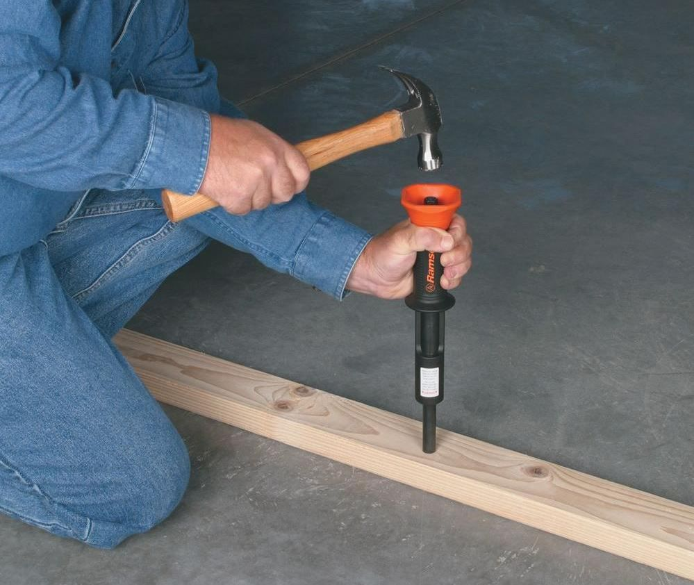 How To Use A Nail Gun For Concrete