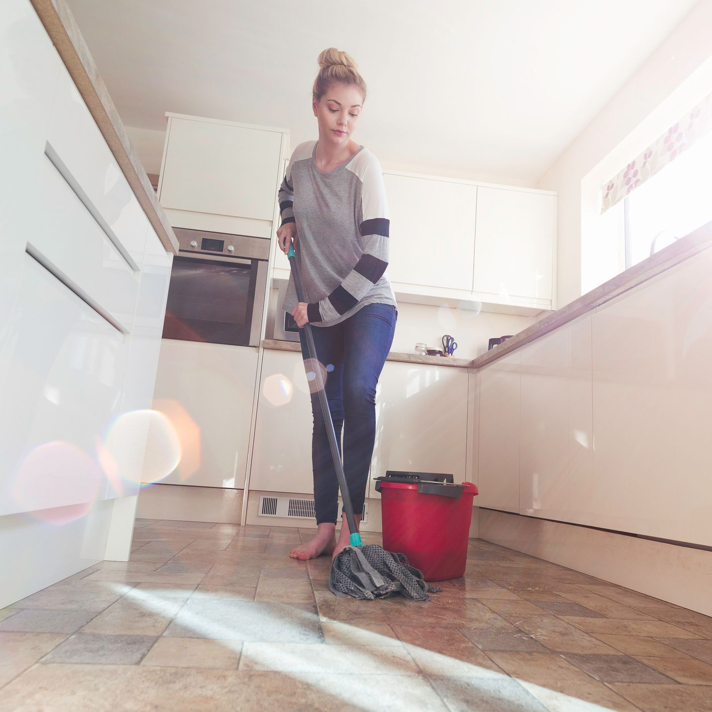 Easy Homemade Mopping Solutions