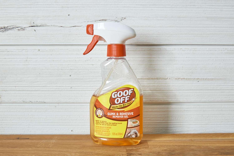 bottle of goo off