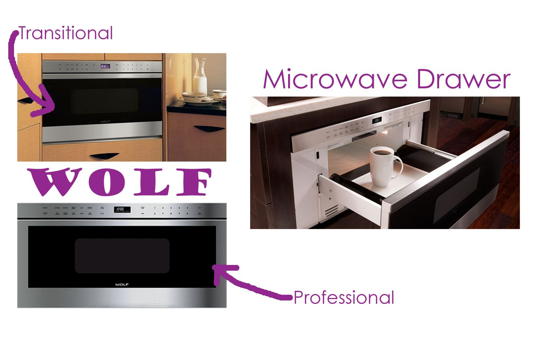 Wolf Microwave Drawer