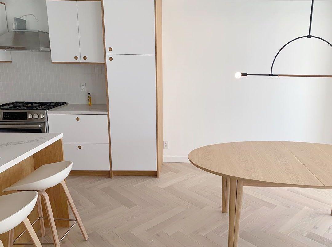 Minimal kitchen area