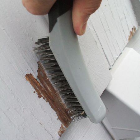 Fix Peeling Paint - Brush Down the Area