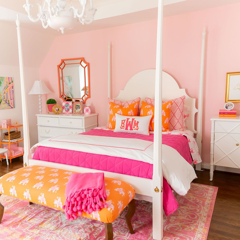 Courtney Whitmore pink room