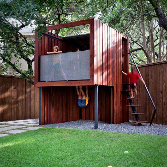 Contemporary tree house
