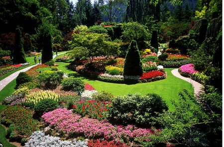 Butchart Gardens Vancouver Island British Columbia Canada